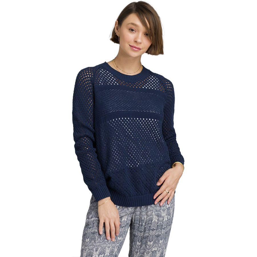 (取寄)プラナ レディース コキモ セーター Prana Women Kokimo Sweater Blue Anchor