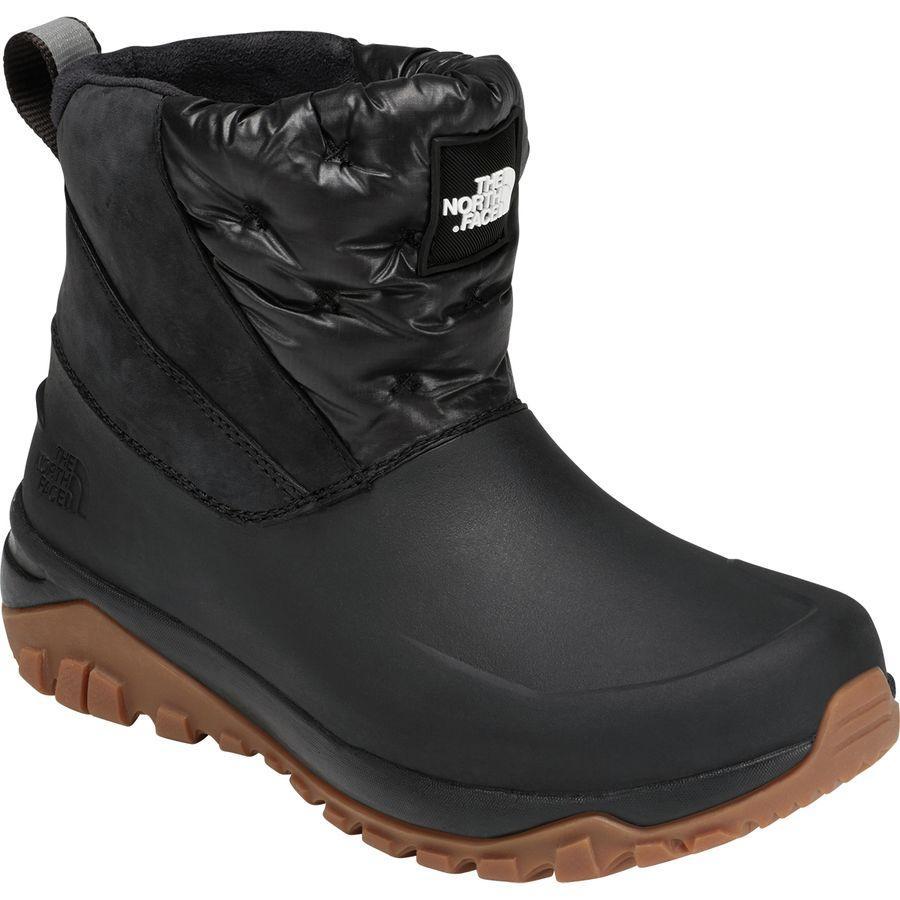 (取寄)ノースフェイス レディース Yukiona アンクル ウィンター ブーツ The North Face Women Yukiona Ankle Winter Boot Tnf Black/Tnf Black