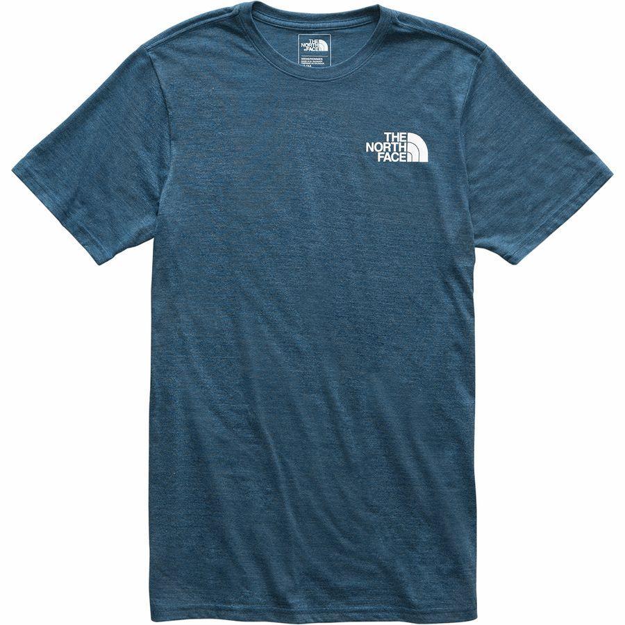 (取寄)ノースフェイス メンズ アーカイブド Tri-Blend Tシャツ The North Face Men's Archived Tri-Blend T-Shirt Blue Wing Teal Heather