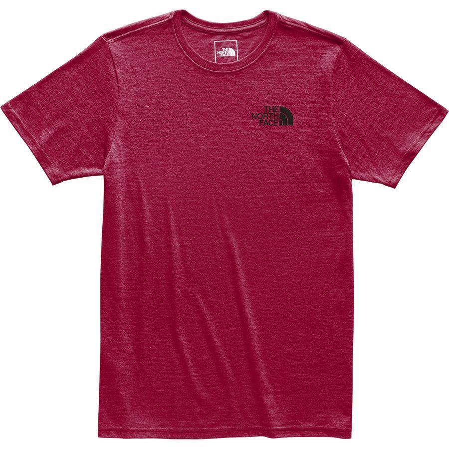 (取寄)ノースフェイス メンズ アーカイブド Tri-Blend Tシャツ The North Face Men's Archived Tri-Blend T-Shirt Cardinal Red Heather