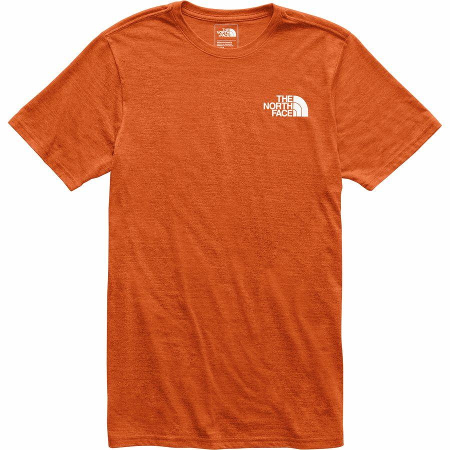 (取寄)ノースフェイス メンズ アーカイブド Tri-Blend Tシャツ The North Face Men's Archived Tri-Blend T-Shirt Papaya Orange Heather