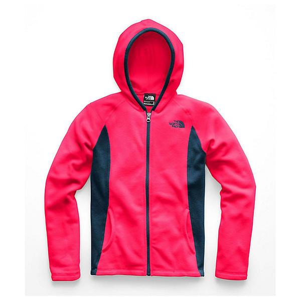 (取寄)ノースフェイス キッズ グレイシャー フル ジップ フーディ The North Face Kid's Glacier Full Zip Hoodie Atomic Pink
