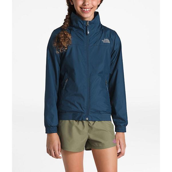 (取寄)ノースフェイス ガールズ ウェンディ クレスト ジャケット The North Face Girls' Windy Crest Jacket Blue Wing Teal