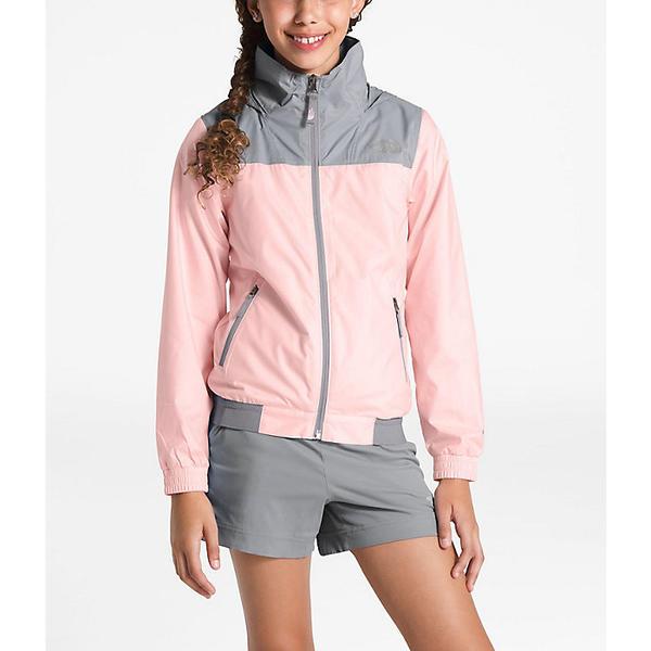 (取寄)ノースフェイス ガールズ ウェンディ クレスト ジャケット The North Face Girls' Windy Crest Jacket Pink Salt