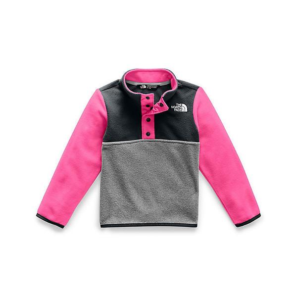 (取寄)ノースフェイス トッドラー グレイシャー 1/4 スナップ トップ The North Face Toddlers' Glacier 1/4 Snap Top Mr. Pink