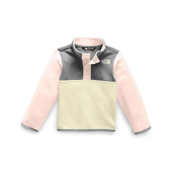 (取寄)ノースフェイス トッドラー グレイシャー 1/4 スナップ トップ The North Face Toddlers' Glacier 1/4 Snap Top Purdy Pink