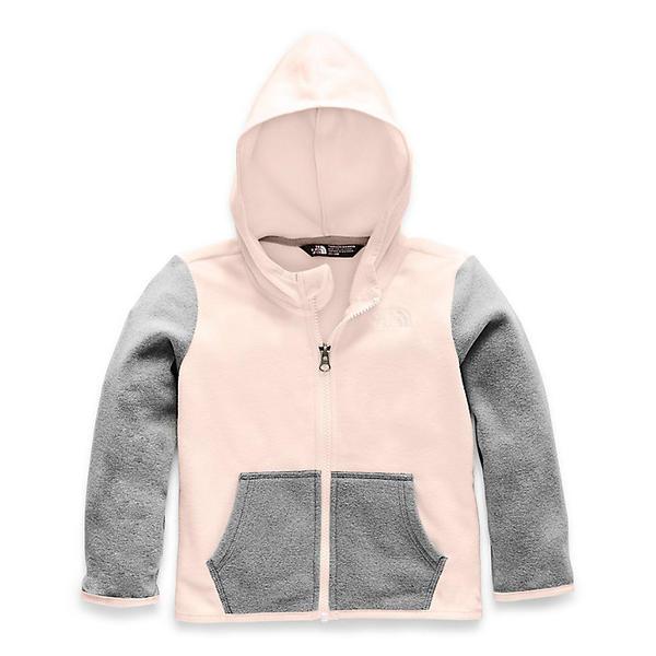 (取寄)ノースフェイス トッドラー グレイシャー フル ジップ フーディ The North Face Toddlers' Glacier Full Zip Hoodie Purdy Pink