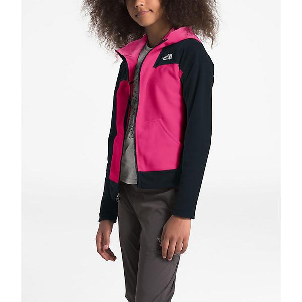 (取寄)ノースフェイス ガールズ グレイシャー フル ジップ フーディ The North Face Girls' Glacier Full Zip Hoodie Mr. Pink