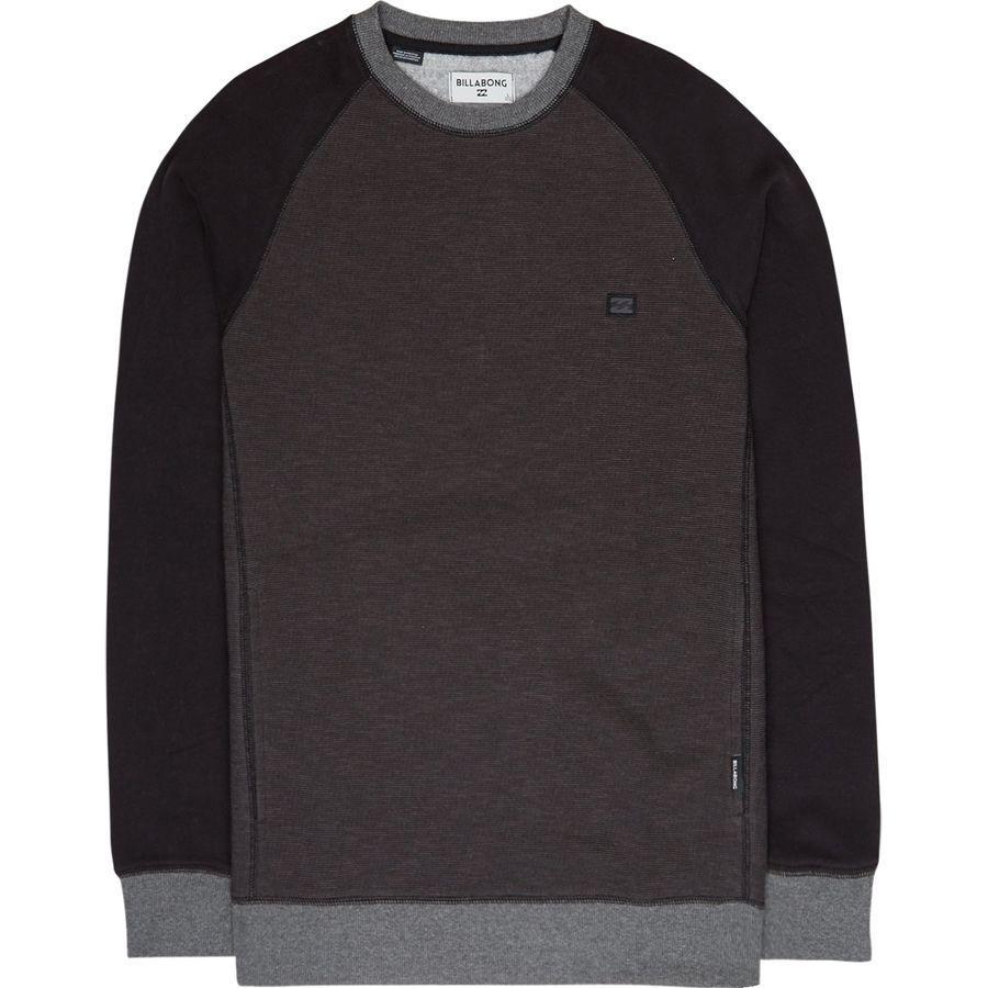 (取寄)ビラボン メンズ バランス クルー トレーナー Billabong Men's Balance Crew Sweatshirt Black