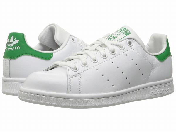 アディダス オリジナルス レディース 激安格安割引情報満載 スニーカー adidas originals 靴 シューズ スリッポン ファッション ブランド Women Smith 保証 スタン White Green Stan トレフォイル スミス Footwear 1 取寄