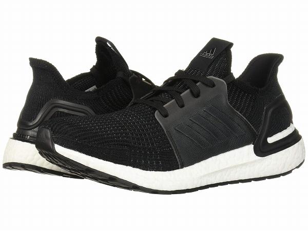 【マラソン ポイント10倍】(取寄)アディダス メンズ ウルトラブースト 19 ランニングシューズ adidas Men's Ultraboost 19 Core Black/Core Black/Footwear White
