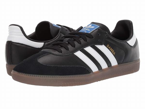 (取寄)アディダス オリジナルス ユニセックス サンバ OG  adidas originals Unisex Samba OG Core Black/Footwear White/Gum 5