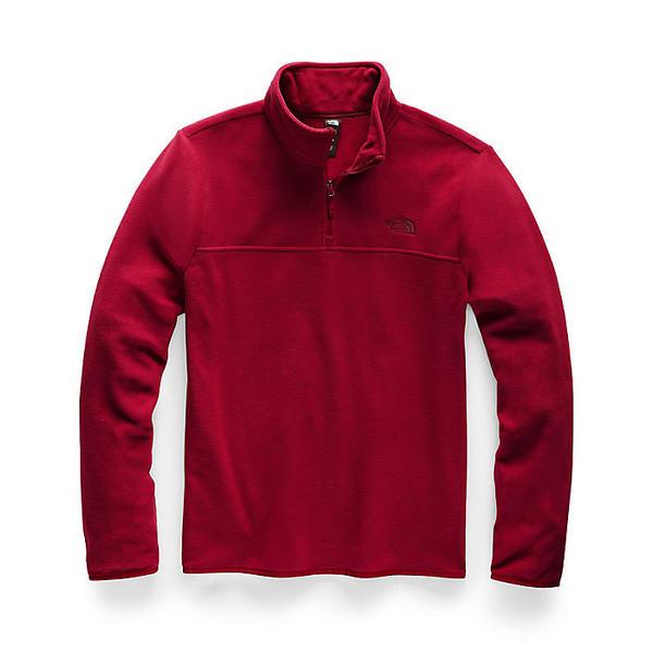 (取寄)ノースフェイス メンズ TKA グレイシャー 1/4 ジップ トップ The North Face Men's TKA Glacier 1/4 Zip Top Cardinal Red / Cardinal Red