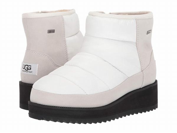 (取寄)アグ レディース リッジ ミニ UGG Women Ridge Mini  White