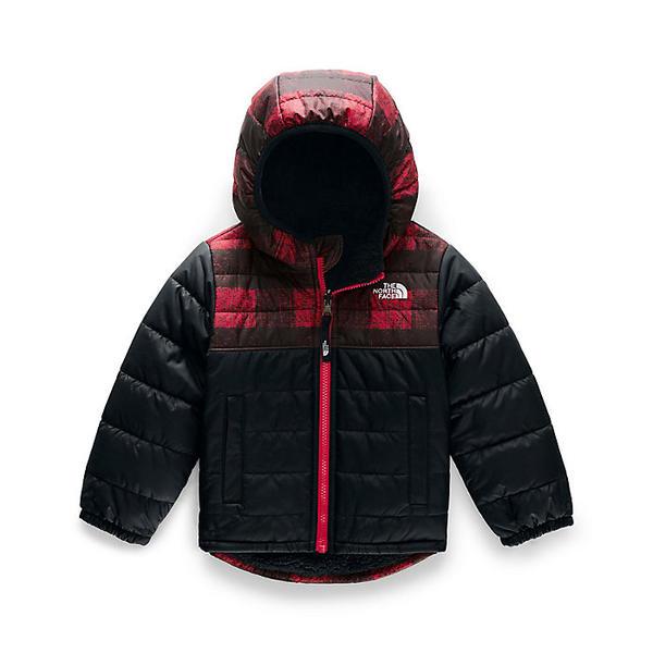 (取寄)ノースフェイス トドラー ボーイズ リバーシブル マウント チンボラソ フーディ The North Face Toddler's Boys Reversible Mount Chimborazo Hoodie TNF Red Mini Buff Check Print