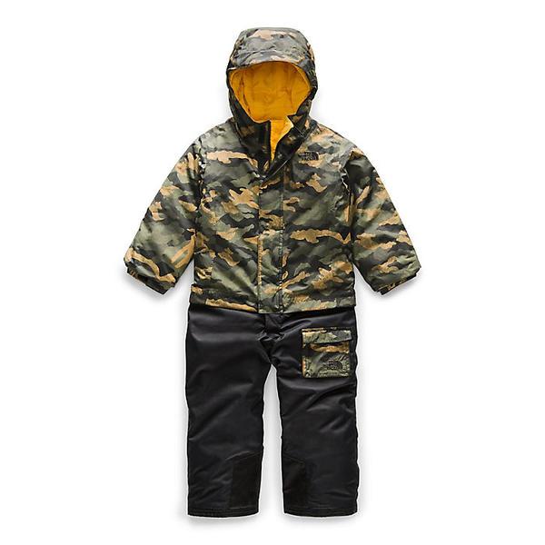(取寄)ノースフェイス トッドラー インスレート ジャンプスーツ The North Face Toddlers' Insulated Jumpsuit British Khaki Mini Waxed Camo Print
