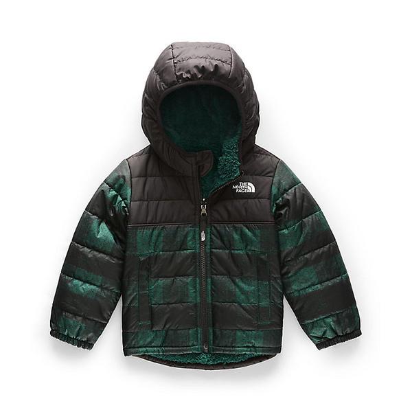 (取寄)ノースフェイス トドラー ボーイズ リバーシブル マウント チンボラソ フーディ The North Face Toddler's Boys Reversible Mount Chimborazo Hoodie Night Green Mini Buff Check Print