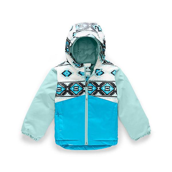 (取寄)ノースフェイス トドラー スノークエスト インスレート ジャケット The North Face Toddler's Snowquest Insulated Jacket TNF White Tribal Geo Print