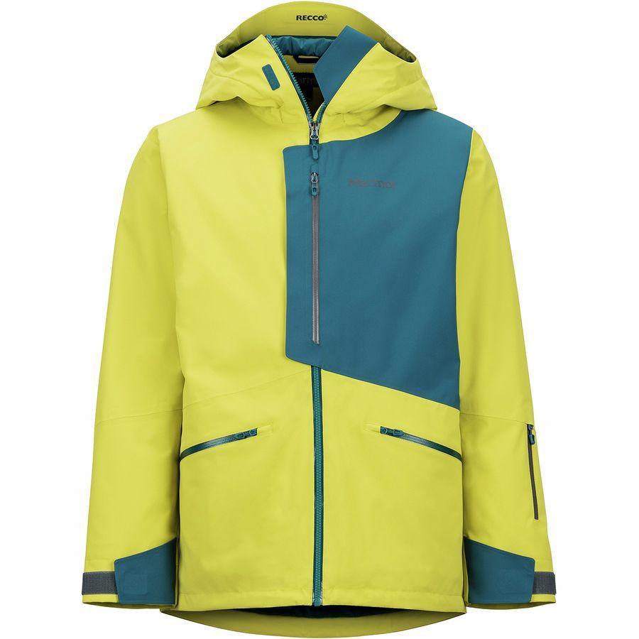 【クーポンで最大2000円OFF】(取寄)マーモット メンズ アンドルー ジャケット Marmot Men's Androo Jacket Citronelle/Moroccan Blue