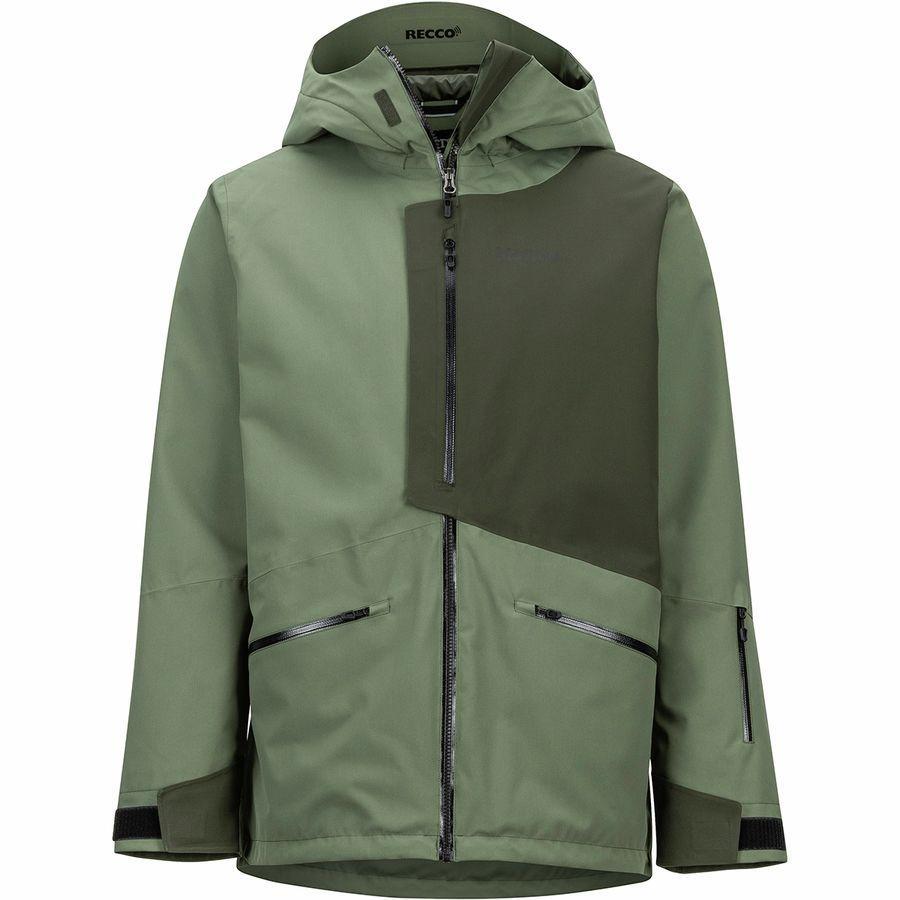 (取寄)マーモット メンズ アンドルー ジャケット Marmot Men's Androo Jacket Crocodile/Rosin Green
