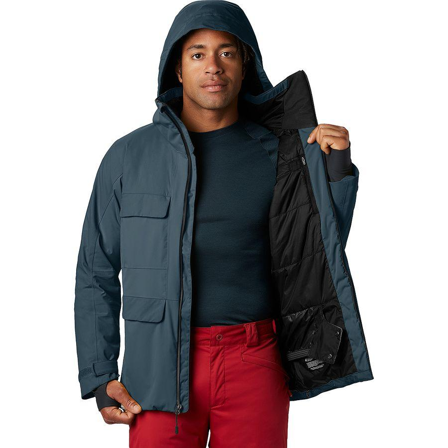 (取寄)マウンテンハードウェア メンズ ファイアフォール 2 インサレーテッド ジャケット Mountain Hardwear Men's Firefall 2 Insulated Jacket Icelandic