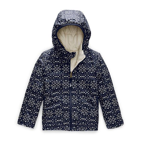 (取寄)ノースフェイス トドラー ガールズ リバーシブル ペリート ジャケット The North Face Toddler's Girls Reversible Perrito Jacket Montague Blue Sparkle Geo Print