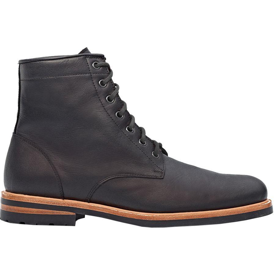 (取寄)Nisolo メンズ アンドレス オール ウェザー ブーツ Nisolo Men's Andres All Weather Boot Black