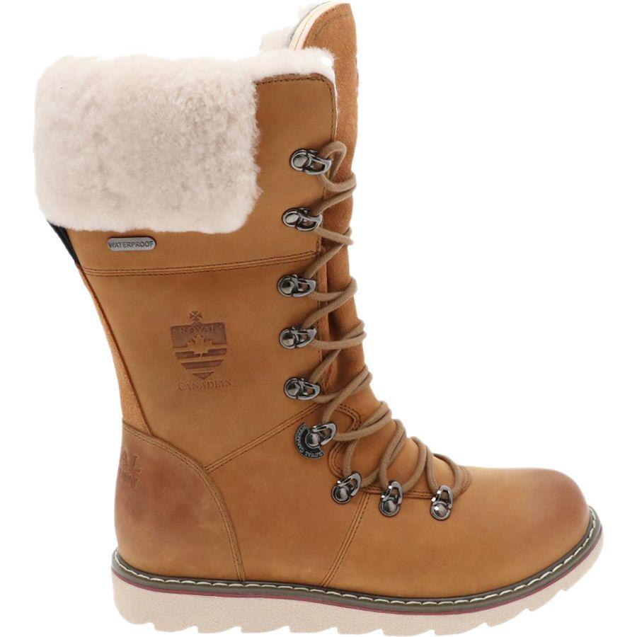 【トレッキング クライミング アウトドア 登山靴】 【レディース シューズ ブーツ 大きいサイズ】 (取寄)ロイヤル カナディアン レディース キャッスルガー ブーツ Royal Canadian Women Castlegar Boot Cottage Brown