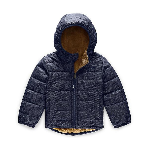 (取寄)ノースフェイス トドラー ボーイズ リバーシブル マウント チンボラソ フーディ The North Face Toddler's Boys Reversible Mount Chimborazo Hoodie Montague Blue Denim Print