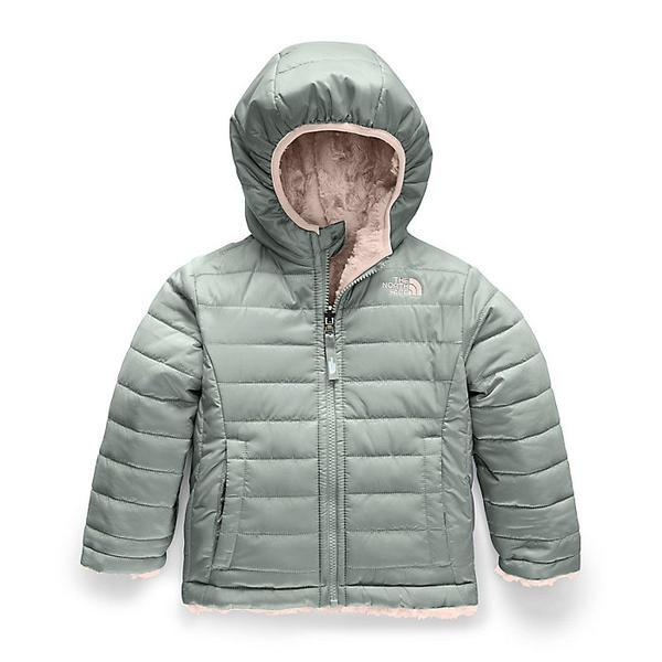 (取寄)ノースフェイス タドラー ガールズ リバーシブル モスブッド スワール ジャケット The North Face Toddler Girls' Reversible Mossbud Swirl Jacket Meld Grey