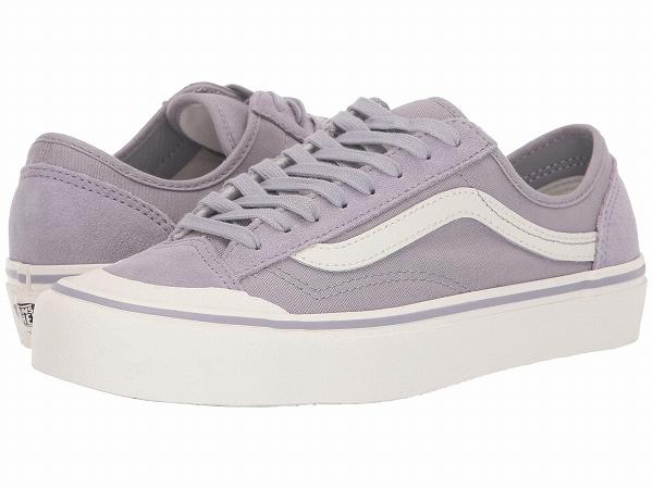 (取寄)Vans(バンズ) スニーカー スタイル 36デコン SF レディース Vans Women Style 36 Decon SF (Suede) Lilac Gray/Marshmallow