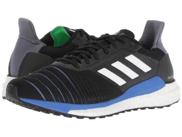(取寄)アディダス メンズ ランニング ソーラー グライド ランニングシューズ adidas Men's Running Solar Glide Black/White/Shock Lime