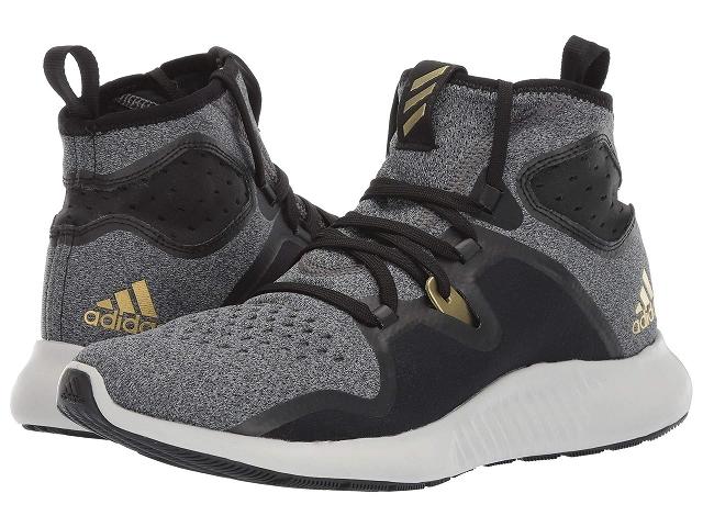 (取寄)アディダス レディース ランニング エッジバウンス ミッド ランニングシューズ adidas Women Running Edgebounce Mid Core Black/Core Black/Gold Metallic