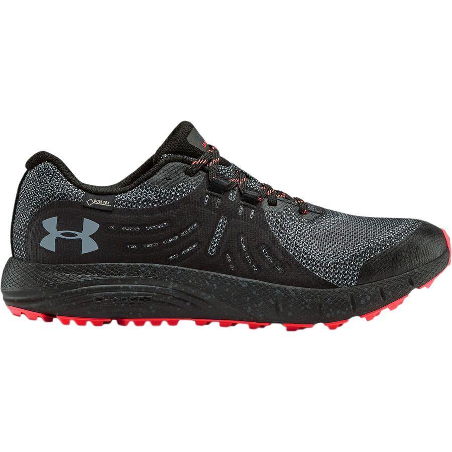 【クーポンで最大2000円OFF】(取寄)アンダーアーマー メンズ チャージド バンディット Gtx トレイル シューズ Under Armour Men's Charged Bandit GTX Trail Shoe Black/Black/Wire