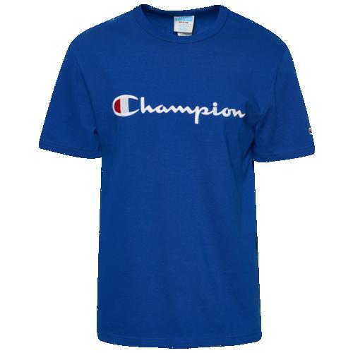 (取寄)チャンピオン メンズ ヘリテージ スクリプト エンブロイダード ショートスリーブ Tシャツ Champion Men's Heritage Script Embroidered S/S T-Shirt Surf The Web