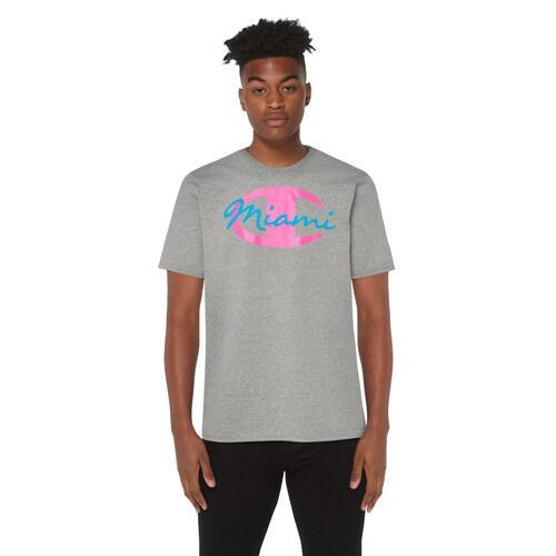 (取寄)チャンピオン メンズ グラフィック Tシャツ Champion Men's Graphic T-Shirt Grey Pink