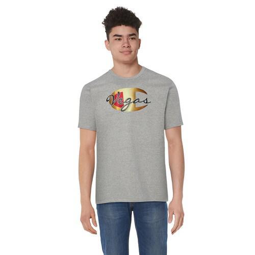 (取寄)チャンピオン メンズ ベガス Tシャツ Champion Men's Vegas T-Shirt Grey Gold