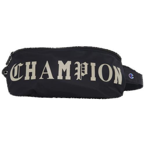 (取寄)チャンピオン オールド C スリング パック Champion Old C Sling Pack Black Gold