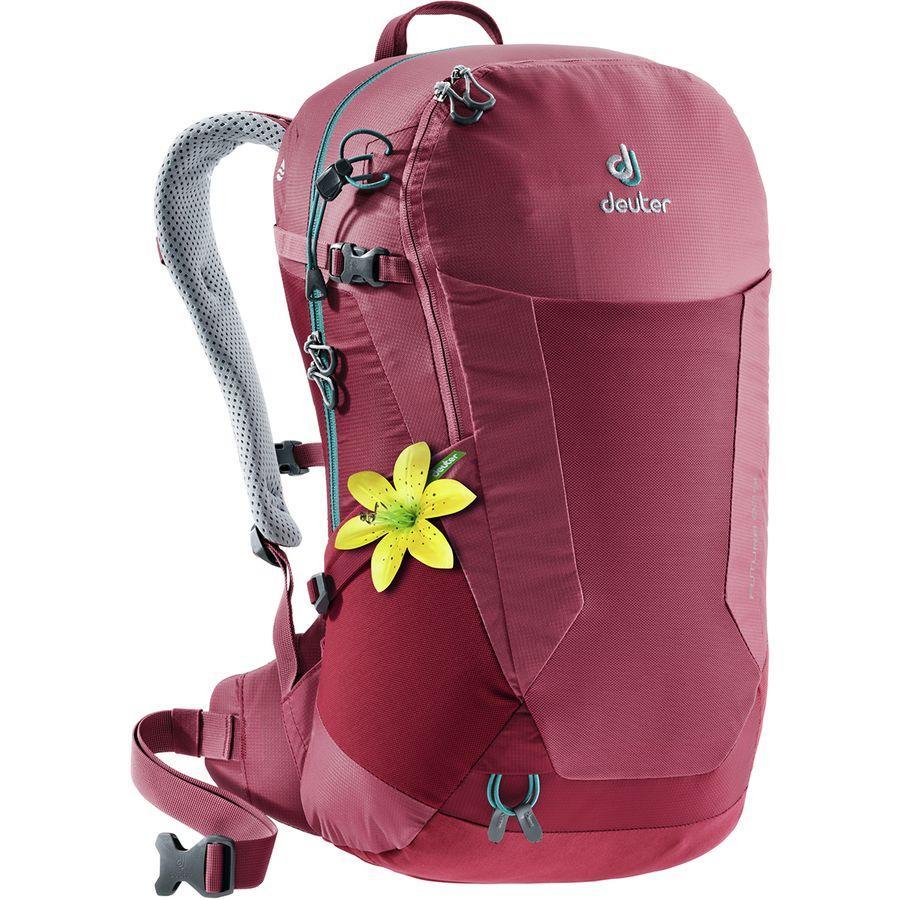 【クーポンで最大2000円OFF】(取寄)ドイター レディース フューチュラ 22LSL バックパック Deuter Women Futura 22L SL Backpack Cardinal-Cranberry