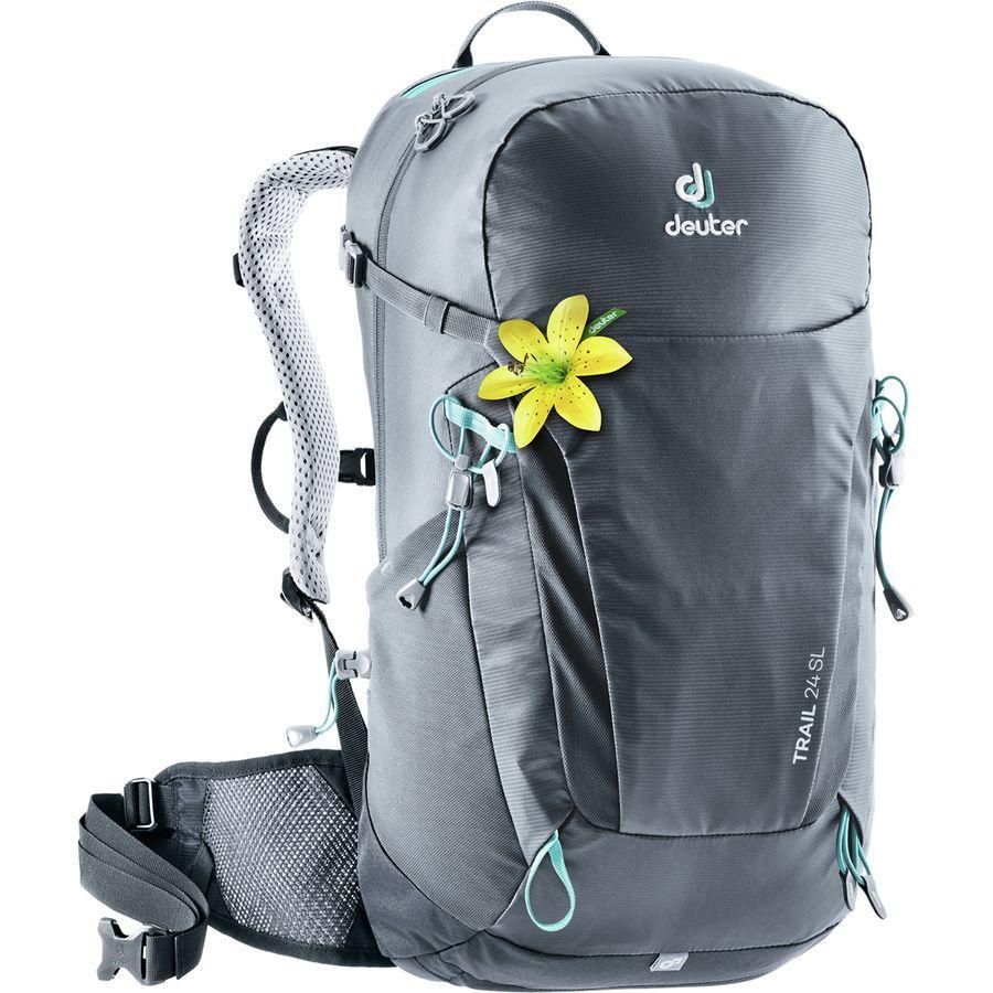【クーポンで最大2000円OFF】(取寄)ドイター レディース トレイル 24SL バックパック Deuter Women Trail 24 SL Backpack Graphite/Black