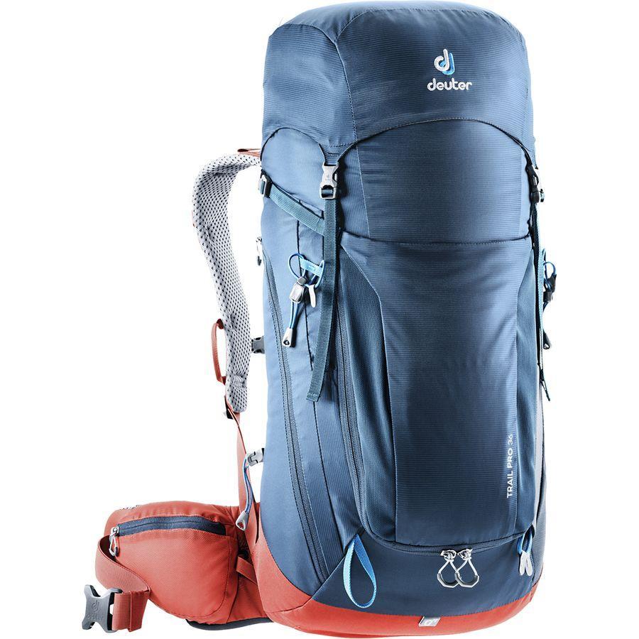 【クーポンで最大2000円OFF】(取寄)ドイター ユニセックス トレイル プロ 36L バックパック Deuter Men's Trail Pro 36L Backpack Midnight/Lava