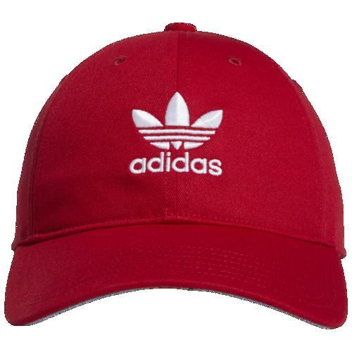 (取寄)アディダス レディース オリジナルス リラックスド ストラップバック ハット Women's adidas Originals Relaxed Strapback Hat Scarlet