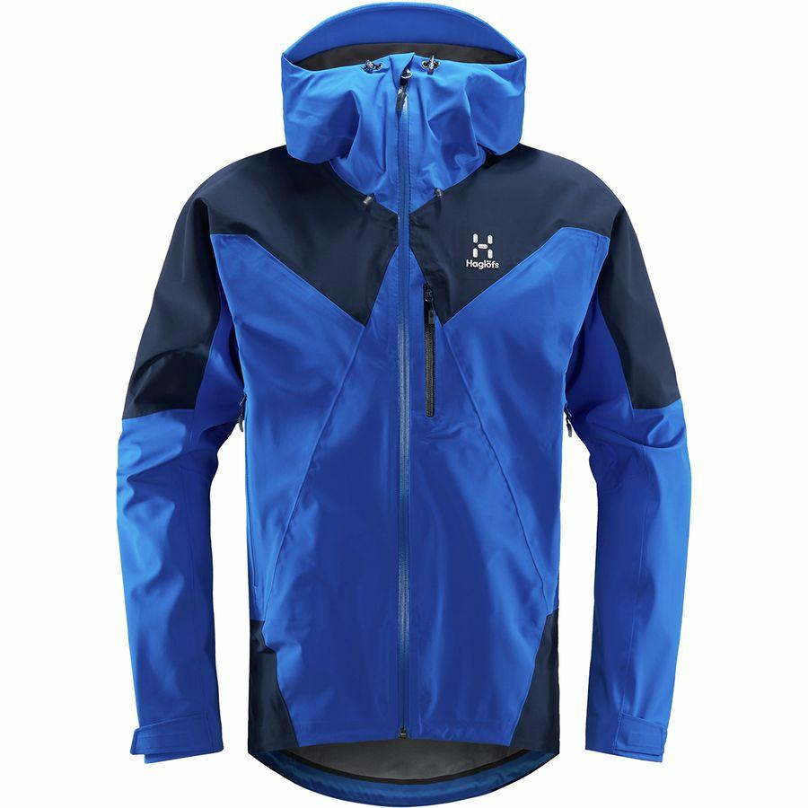 【クーポンで最大2000円OFF】(取寄)ホグロフス メンズ L.I.M ツーリング プルーフ ジャケット Haglofs Men's L.I.M Touring Proof Jacket Storm Blue/Tarn Blue