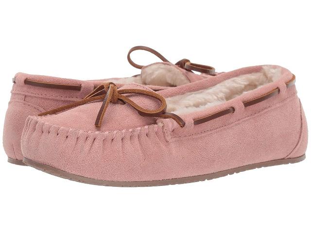 (取寄)ミネトンカ レディース ジーナ ジュニア トラッパー  Minnetonka Women Gina Junior Trapper Pink Blush 2