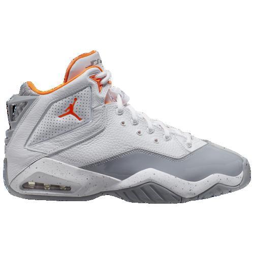 (取寄)ジョーダン メンズ ビーロイヤル Jordan Men's B'Loyal White Total Orange Wolf Grey