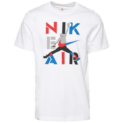 (取寄)ジョーダン メンズ レトロ 4 エア Tシャツ Jordan Men's Retro 4 Air T-Shirt White