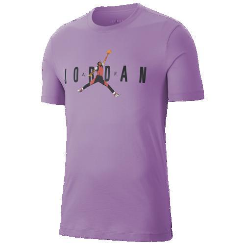 (取寄)ジョーダン メンズ AJ 85 ジャンプマン Tシャツ Jordan Men's AJ 85 Jumpman T-Shirt Violet Star