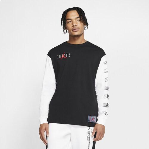 (取寄)ジョーダン メンズ レトロ 11 ロング スリーブ Tシャツ Jordan Men's Retro 11 Long Sleeve T-Shirt Black