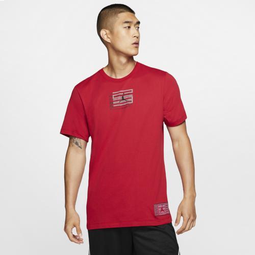 (取寄)ジョーダン メンズ レトロ 11 ショート スリーブ 23 Tシャツ Jordan Men's Retro 11 Short Sleeve 23 T-Shirt Gym Red