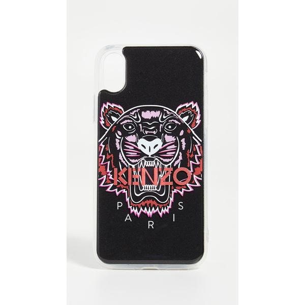 ケンゾー 3D タイガー ヘッド アイフォン X / XS ケース KENZO 3D Tiger Head iPhone X / XS Case Black